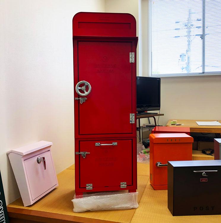 美濃クラフトさん、機能門柱 DEPO と宅配ボックス